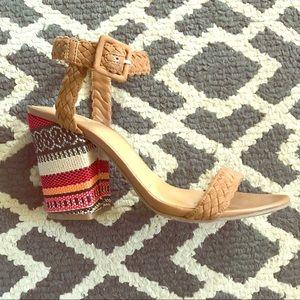 Crown Vintage block heels